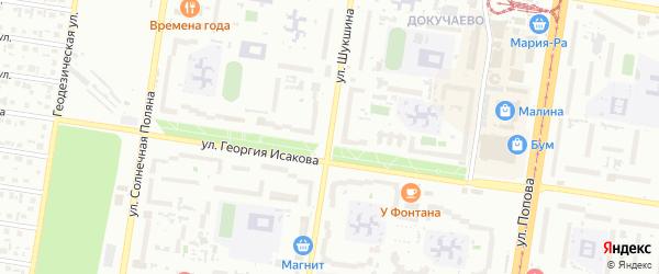 Площадь им В.М.Шукшина на карте Барнаула с номерами домов