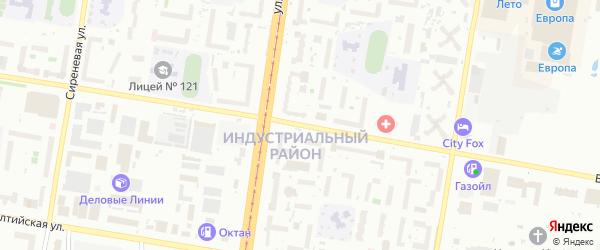 Взлетная улица на карте садового некоммерческого товарищества Медика с номерами домов