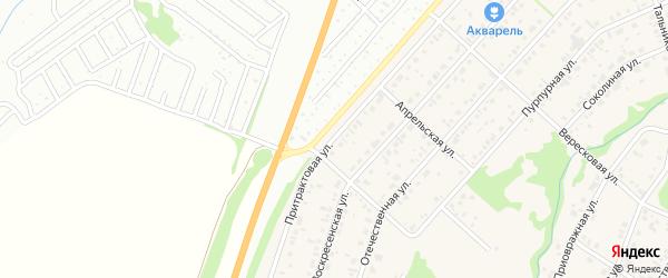 Притрактовая улица на карте поселка Бельмесево с номерами домов