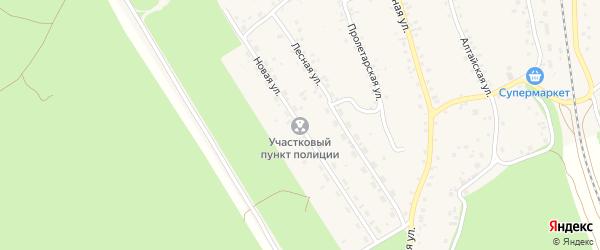 Новая улица на карте станции Озерки с номерами домов