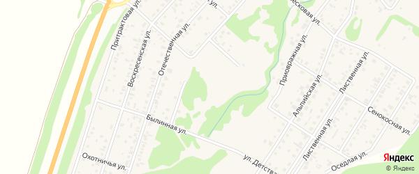 Улица Детства на карте поселка Бельмесево с номерами домов