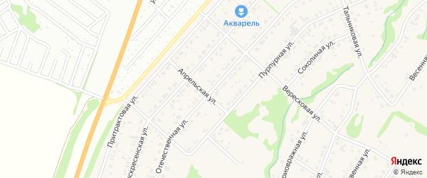 Отечественная улица на карте поселка Бельмесево с номерами домов
