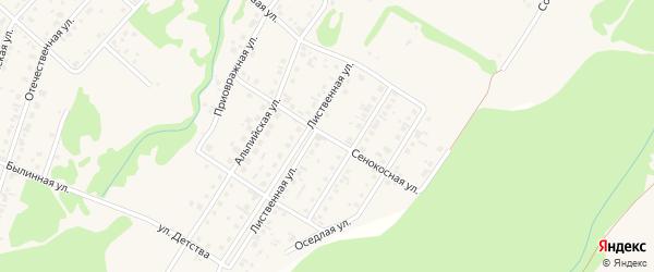 Сенокосная улица на карте поселка Бельмесево с номерами домов