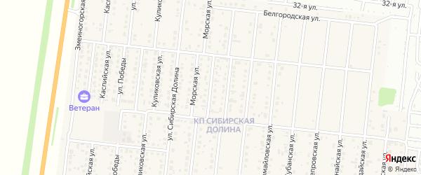 Малая Морская улица на карте поселка Бельмесево с номерами домов
