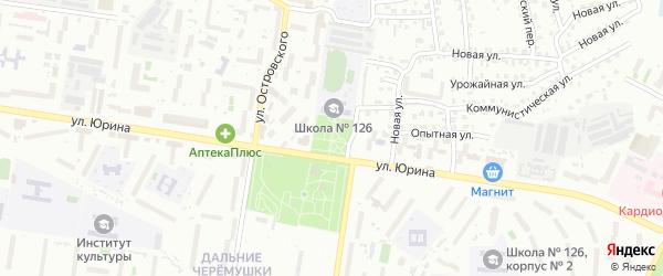 Сквер Олега Суртаева на карте Барнаула с номерами домов