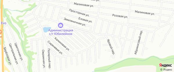 Вишневая улица на карте садового некоммерческого товарищества Алтая с номерами домов