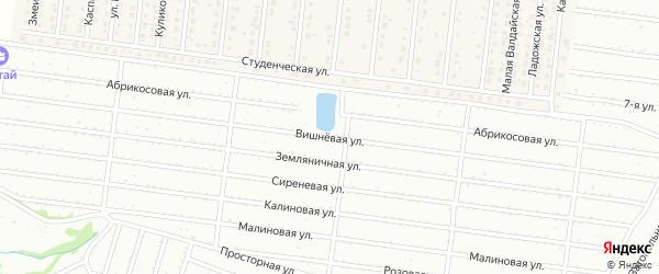 Абрикосовая улица на карте садового некоммерческого товарищества Алтая с номерами домов