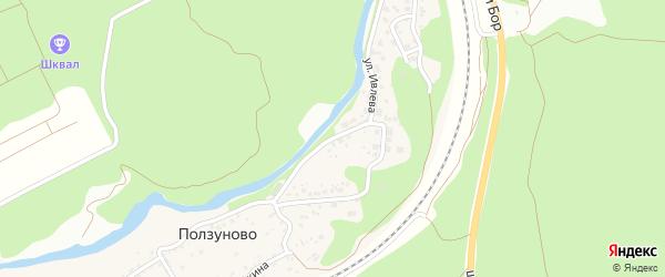 Улица им Н.Ивлева на карте станции Ползуново с номерами домов