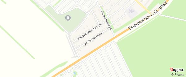 Улица им М.Лисавенко на карте поселка Садоводова с номерами домов