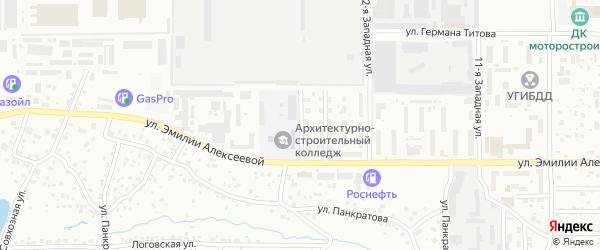 14-я улица на карте территории стд Дизеля с номерами домов
