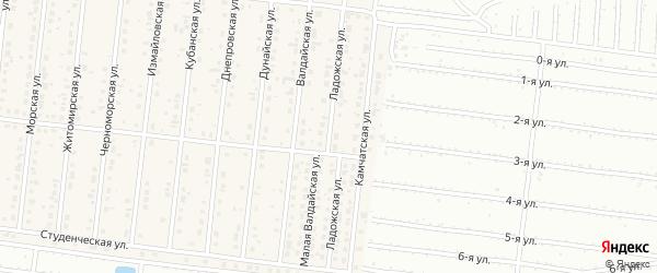 Ладожская улица на карте поселка Бельмесево с номерами домов