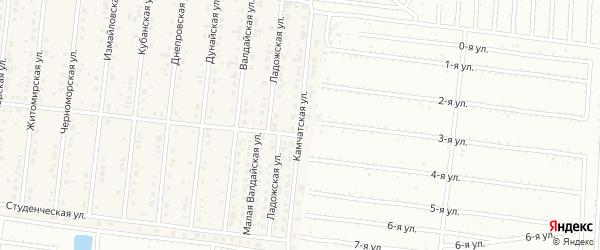 Камчатская улица на карте поселка Бельмесево с номерами домов