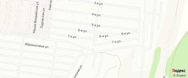 Улица 7 Выезд на карте Барнаула с номерами домов