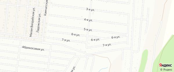 Улица 6 Выезд на карте Барнаула с номерами домов