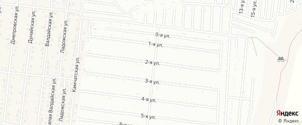 Надречная 2-я улица на карте поселка Бельмесево с номерами домов