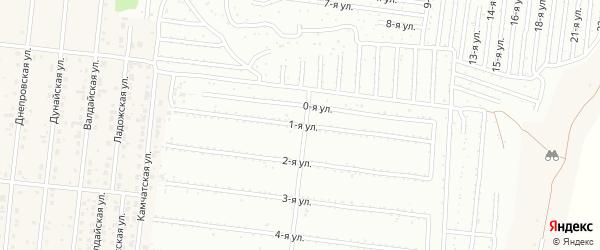 Комышовая 1-я улица на карте поселка Бельмесево с номерами домов