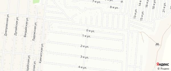 Надречная 1-я улица на карте поселка Бельмесево с номерами домов