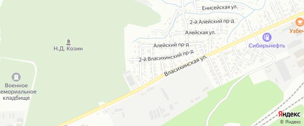 Улица 8 Выезд на карте Барнаула с номерами домов