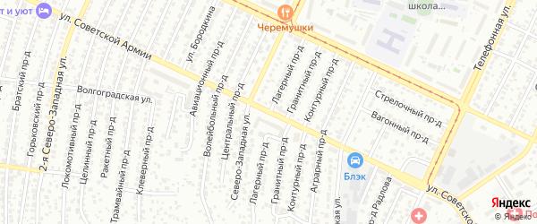 Улица Советской Армии на карте Барнаула с номерами домов