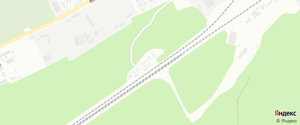Остановочная улица на карте Барнаула с номерами домов