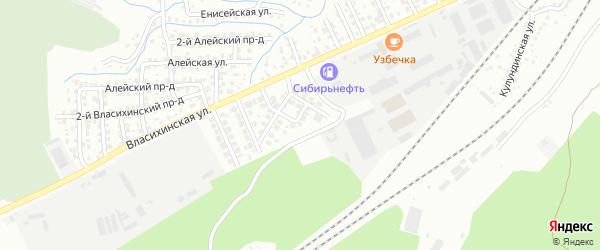 Еловая улица на карте садового некоммерческого товарищества N 12 с номерами домов