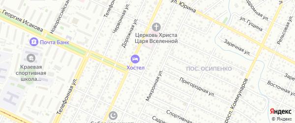 Паровозная улица на карте Барнаула с номерами домов