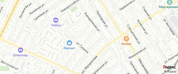 Червонная улица на карте Барнаула с номерами домов