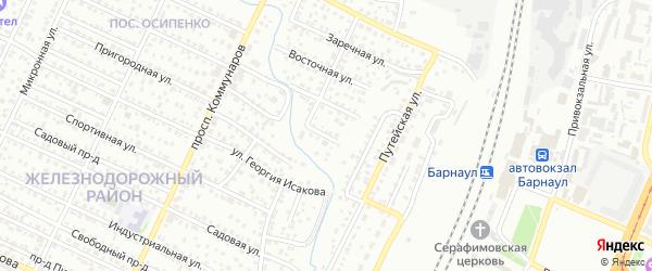 Стрелковая улица на карте поселка Казенной Заимки с номерами домов