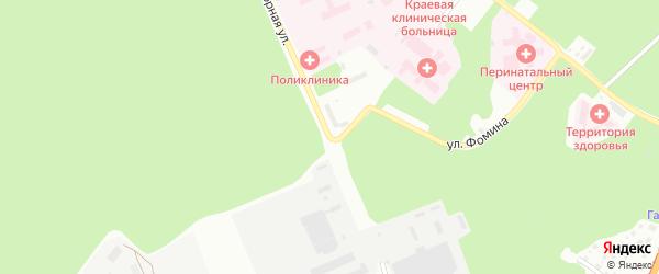 6-я улица на карте садового некоммерческого товарищества Машиностроителя с номерами домов