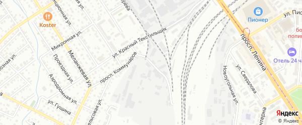 Улица Зеленая Роща на карте Барнаула с номерами домов