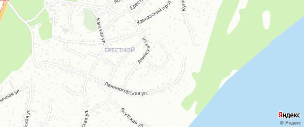 Бельмесевская улица на карте Барнаула с номерами домов