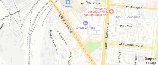 Шипуновская улица на карте Барнаула с номерами домов