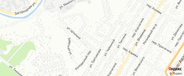 Проезд Фроловых на карте Барнаула с номерами домов