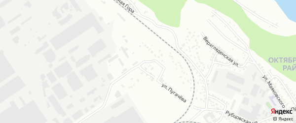 Улица Лазо на карте Барнаула с номерами домов
