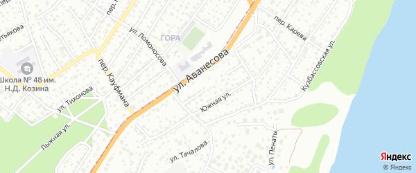 Ярославский проезд на карте Барнаула с номерами домов