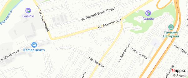 Чумышский переулок на карте Барнаула с номерами домов