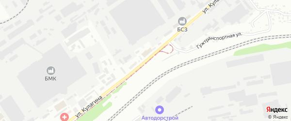 Улица П.С.Кулагина на карте Барнаула с номерами домов