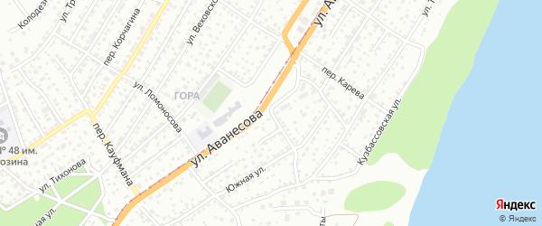 Агрономический переулок на карте Барнаула с номерами домов