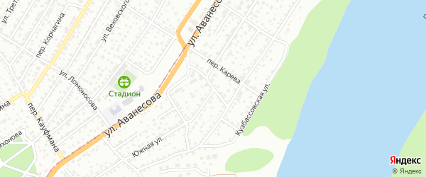 Чарышский проезд на карте Барнаула с номерами домов