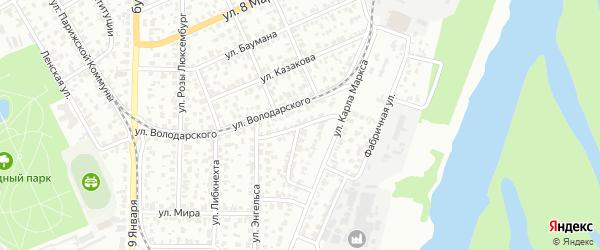 Татарская улица на карте Барнаула с номерами домов