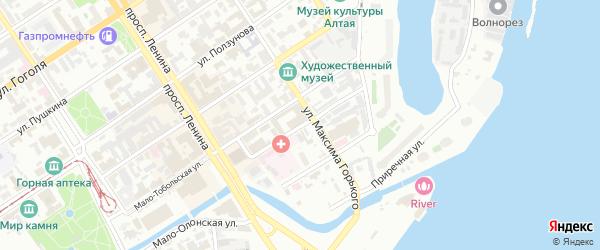 Луговая улица на карте садового некоммерческого товарищества Полета с номерами домов