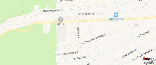 Новая улица на карте села Боровихи с номерами домов