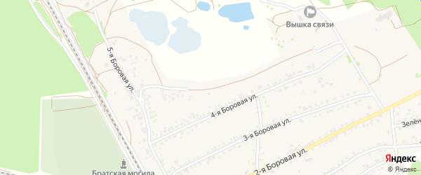 5-я улица на карте Янтарного садового некоммерческого товарищества с номерами домов