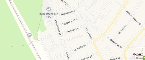 Степная улица на карте села Зудилово с номерами домов