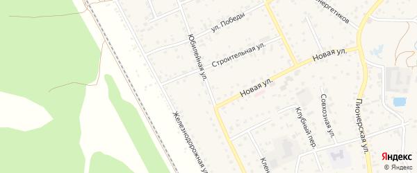 Юбилейная улица на карте села Зудилово с номерами домов