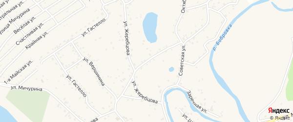 Улица Крупнова на карте села Бобровки с номерами домов