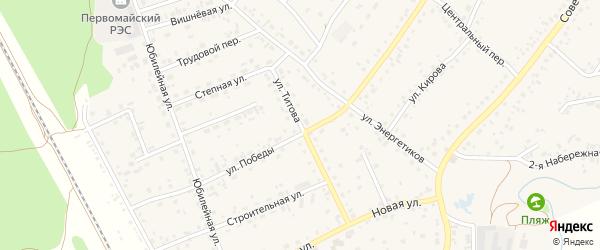 Улица Титова на карте села Зудилово с номерами домов