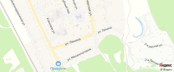 Улица Ленина на карте села Зудилово с номерами домов