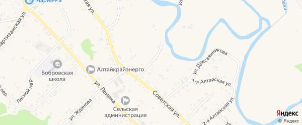 Улица Филимонова на карте села Бобровки с номерами домов