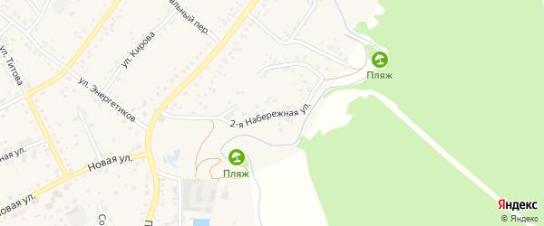 2-я Набережная улица на карте Новоалтайска с номерами домов